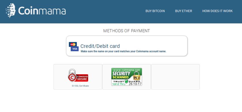 kliknite na platbu kartou