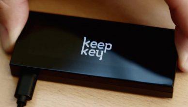 KeepKey peňazenka